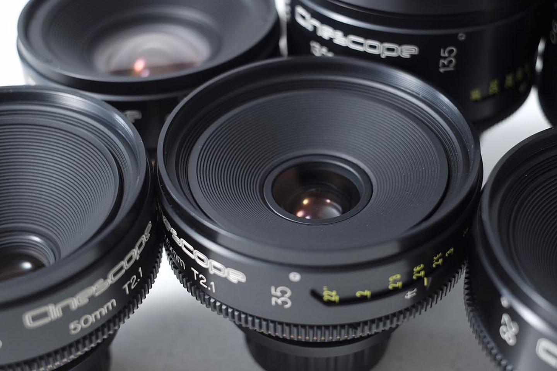 set of our lovely Full Frame Cinescope Leica Rs